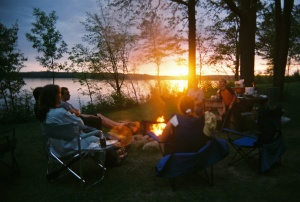 Valhalla Sunset & Camp Fire