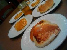 Real Maple Syrup & Fluffy Buttermilk Pancakes