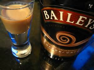 Glass of Bailey's