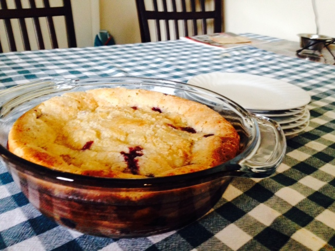 Blueberry-Vanilla Kuchen