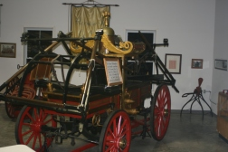 Firehouse Antique Pumper