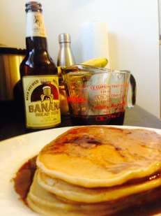 Banana Beer Pancakes