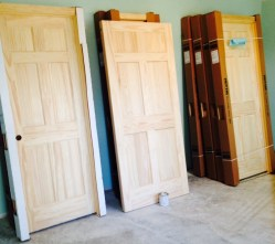 Unstained Solid Pine Doors
