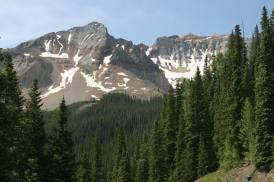 Snowy Peaks Beyond Trout Lake