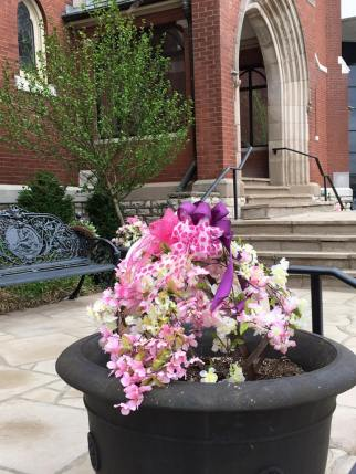 Easter Planter At St. Joseph in Clayton