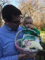 Elise's 1st Easter Basket