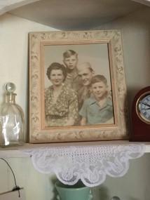 Grandma Anna, Grandpa Earl, Marty, & Earl