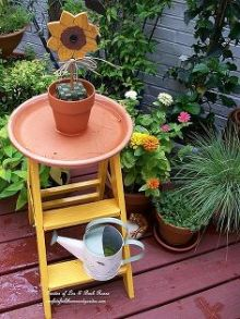Bird Bath Ladder