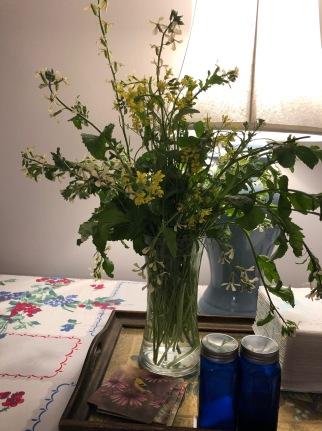 Arugula & Lettuce Blossoms