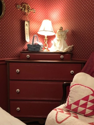 Antique Corner Dresser