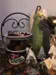 Angel and ChristmasVillage