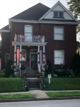 6th Street House Decked For The 4th ofJuly